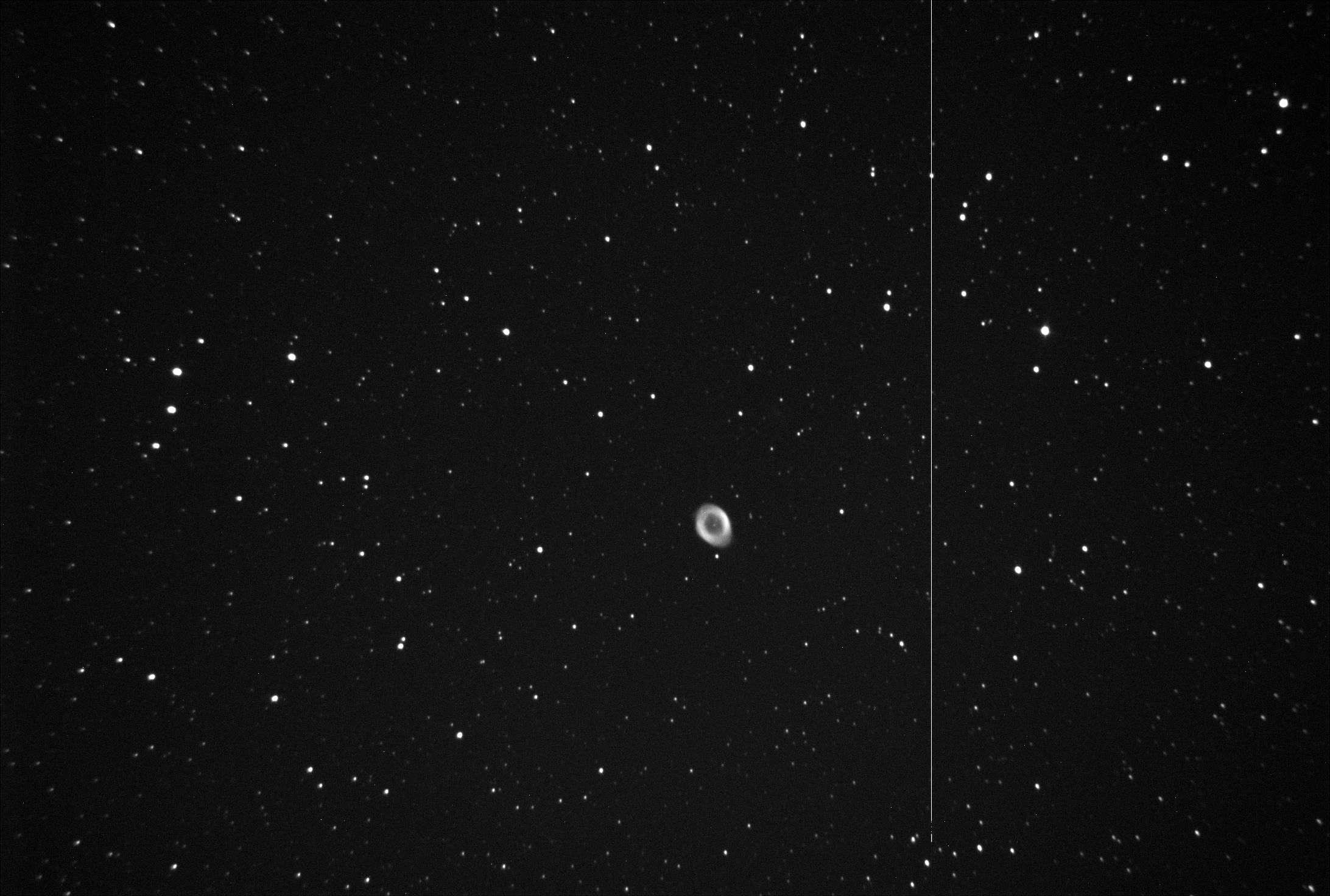 SBIG: 2 soirées de test M57-bi10