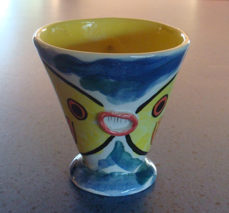 Veneto Ceramics of Kapiti ~ Fish mug by Audrey Dsc00710
