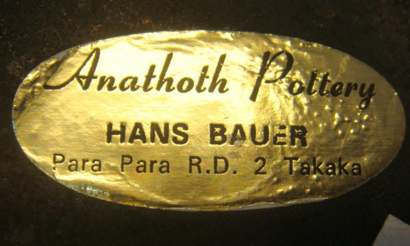Hans Bauer ~ Anathoth Pottery Dsc09011