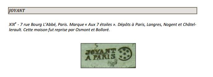 7 étoiles - Paris Joyant10