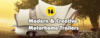 16 modèles de camper trailers très originaux !!!! Motorh10