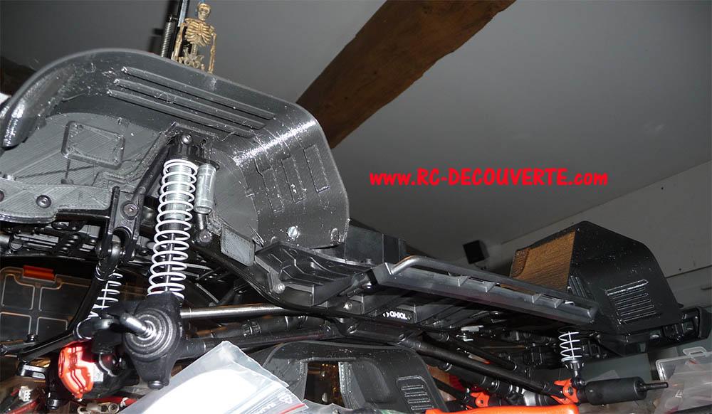 Garde boue 3D et de Passage de roue 3D pour Axial SCX10 II et Scx10 ancienne génération 13-gar10