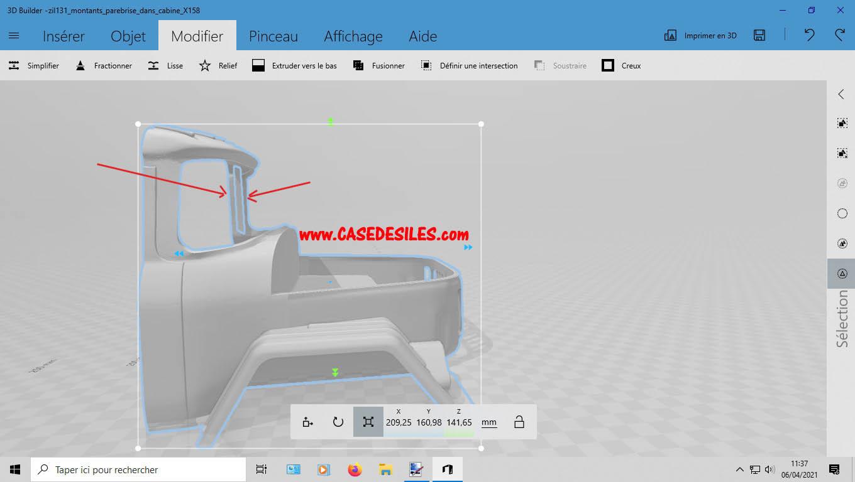 Camion Zil 131 6x6 impression 3D avec balancier totalement fait maison - Page 2 2-mise10