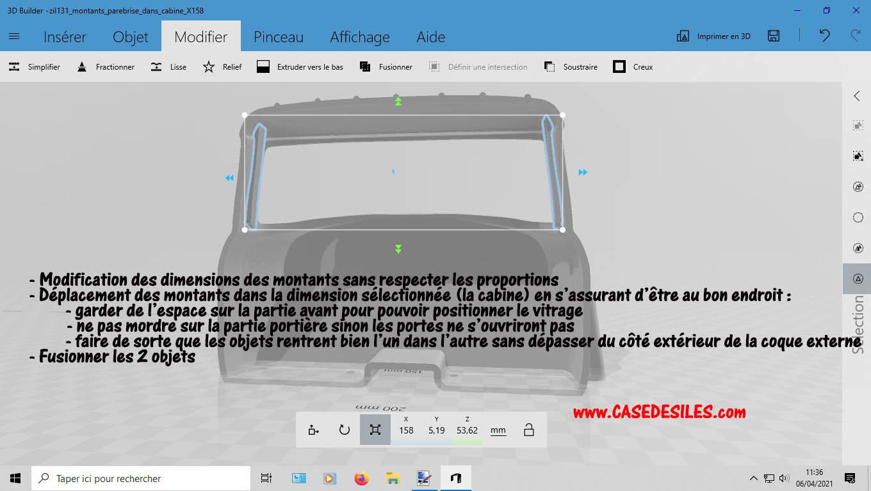 Camion Zil 131 6x6 impression 3D avec balancier totalement fait maison - Page 2 2-mise11