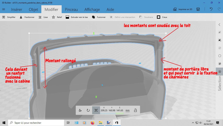 Camion Zil 131 6x6 impression 3D avec balancier totalement fait maison - Page 2 2-mise13