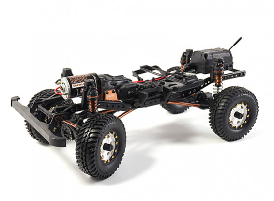 3RACING RC Crawler EX REAL Kit Chassis complet à 155Eur Fdpi 3racin10