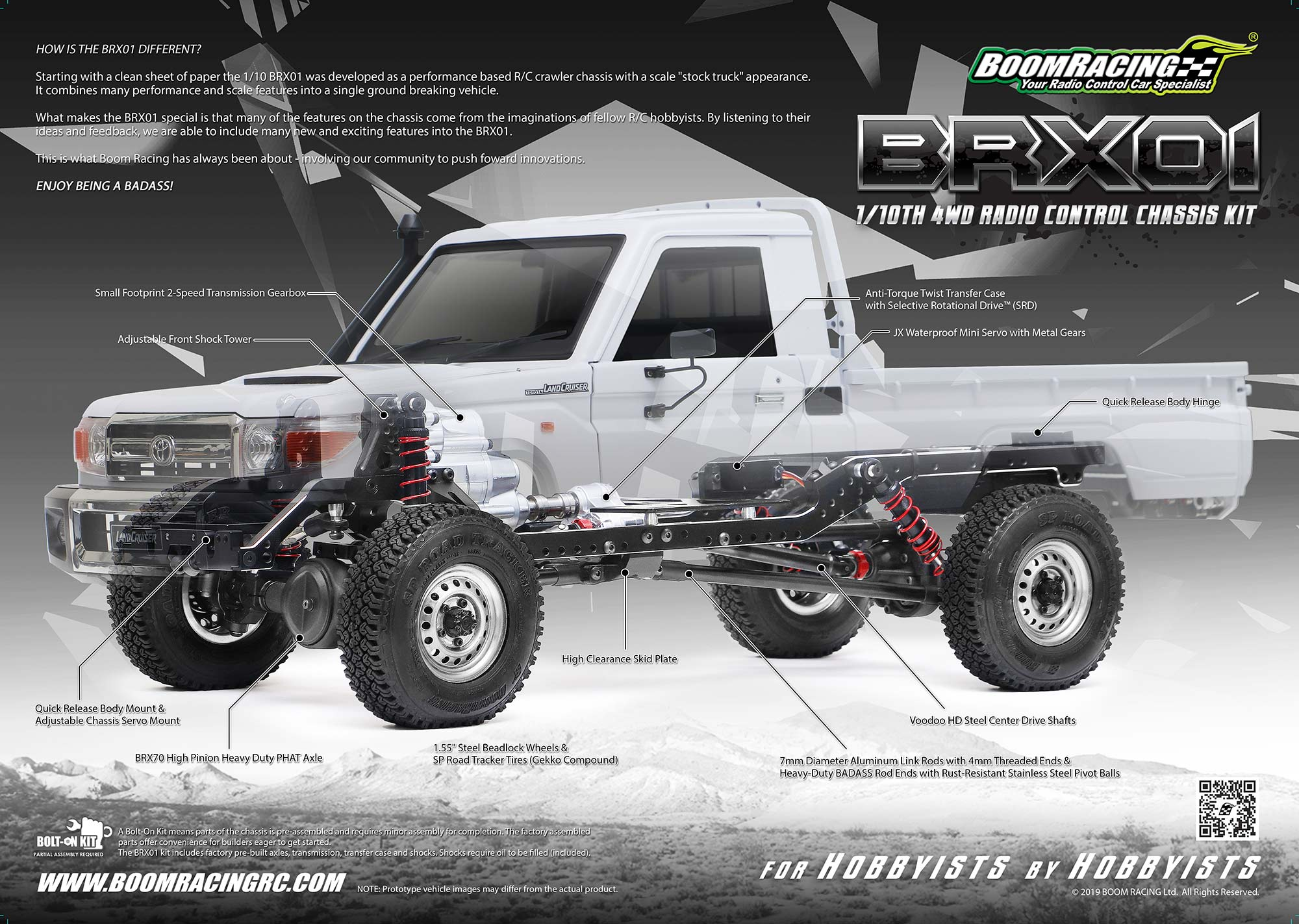 Boom Racing BRX01 Toyota LC70 le Super Scale ! 420_fr10