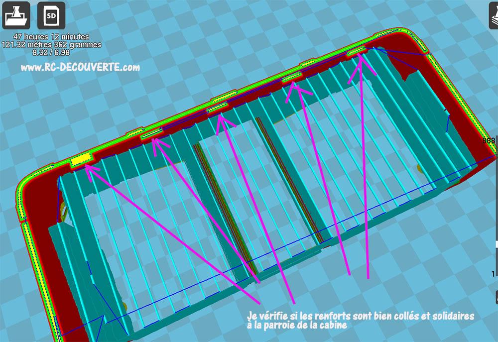 Camion Zil 131 6x6 impression 3D avec balancier totalement fait maison - Page 2 5-cabi11