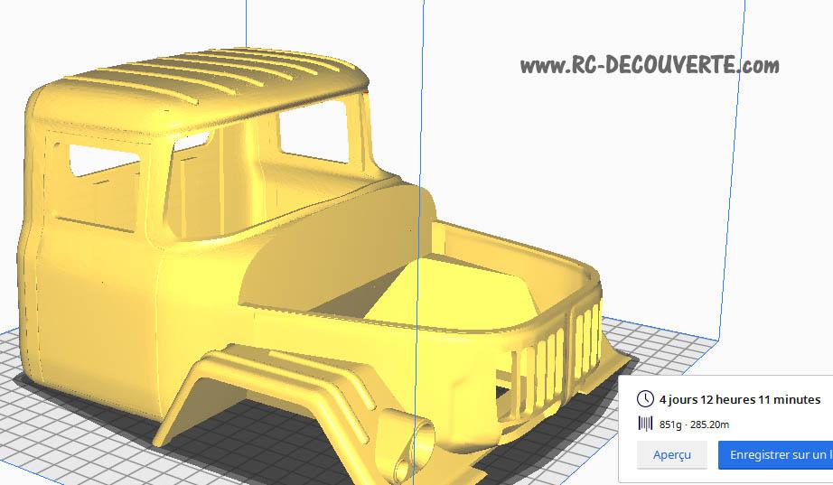 Camion Zil 131 6x6 impression 3D avec balancier totalement fait maison - Page 2 5-cabi13