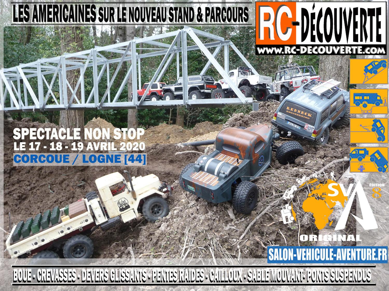 Salon du Véhicule d'Aventure SVA 2020 - Corcoué sur Logne (44) : du 16 au 18 Octobre - Page 5 Affich20