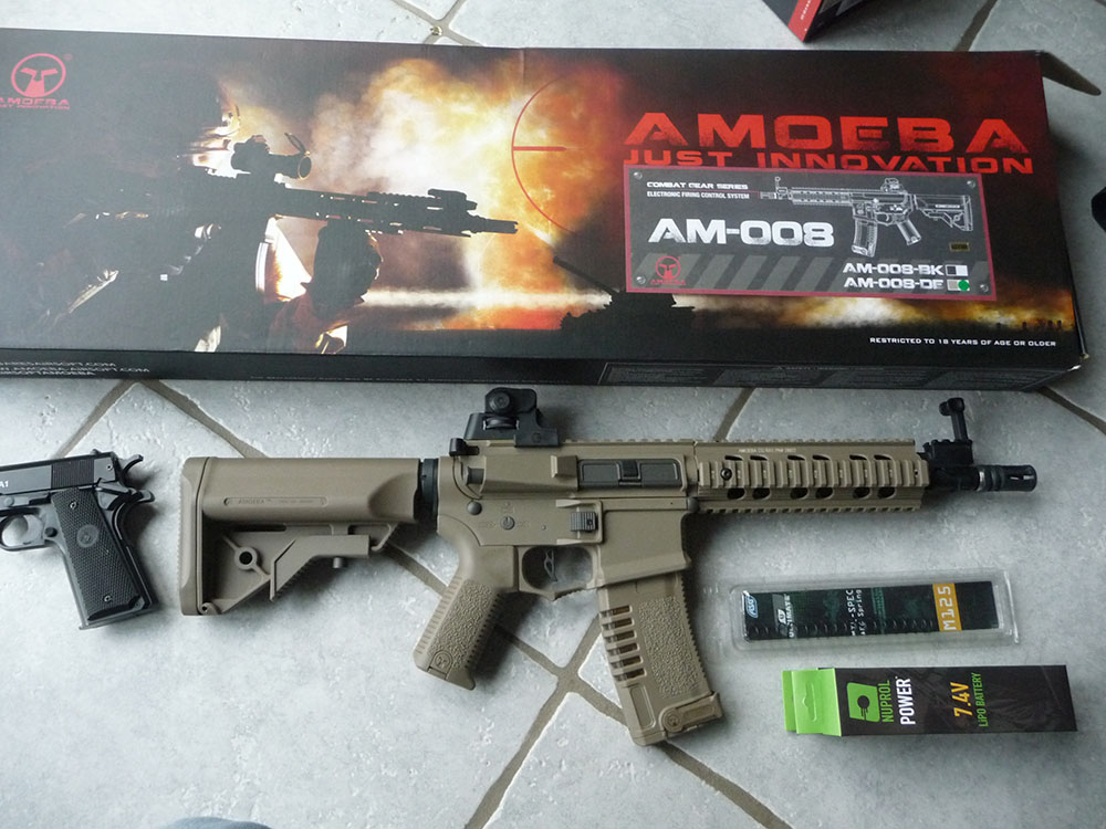 Ares Amoeba AM-008 M4 lipo 2S Ares-a10
