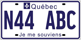 Plaque immatriculation Arfj-210