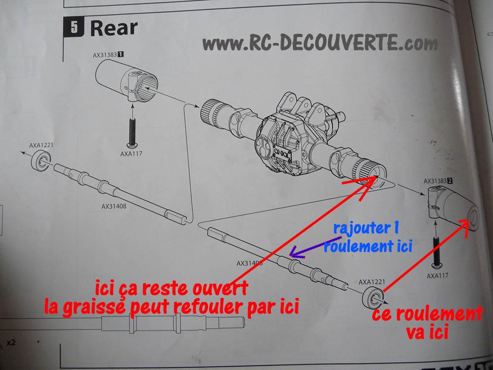 Montage SCX10 II Kit VS RTR : que vaut le SCX10 2 ? - Page 11 Axe-cv14