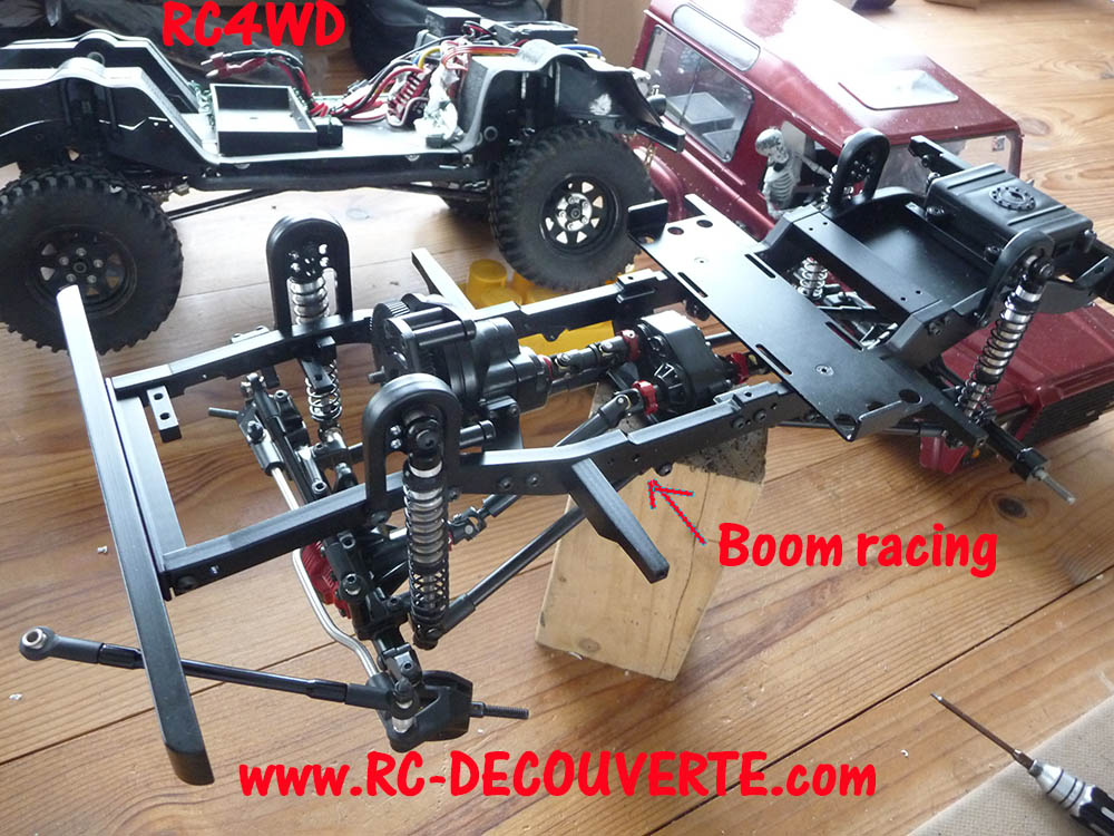 Chassis Boom Racing D90 D110 VS RC4WD Gelande 2 Boom-r10