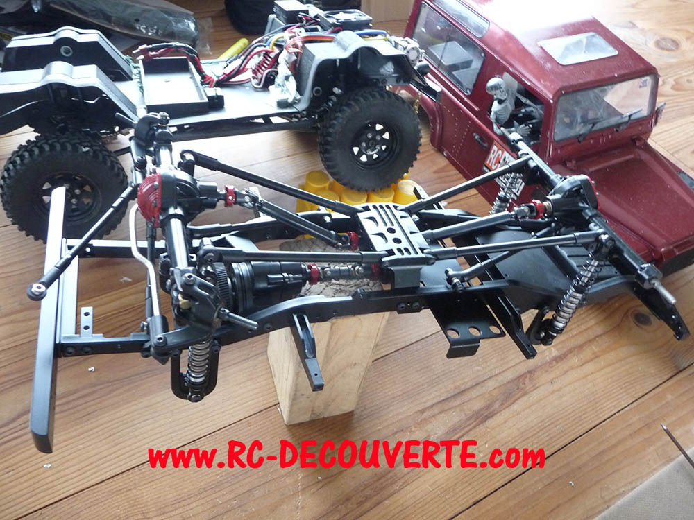 Chassis Boom Racing D90 D110 VS RC4WD Gelande 2 Boom-r15