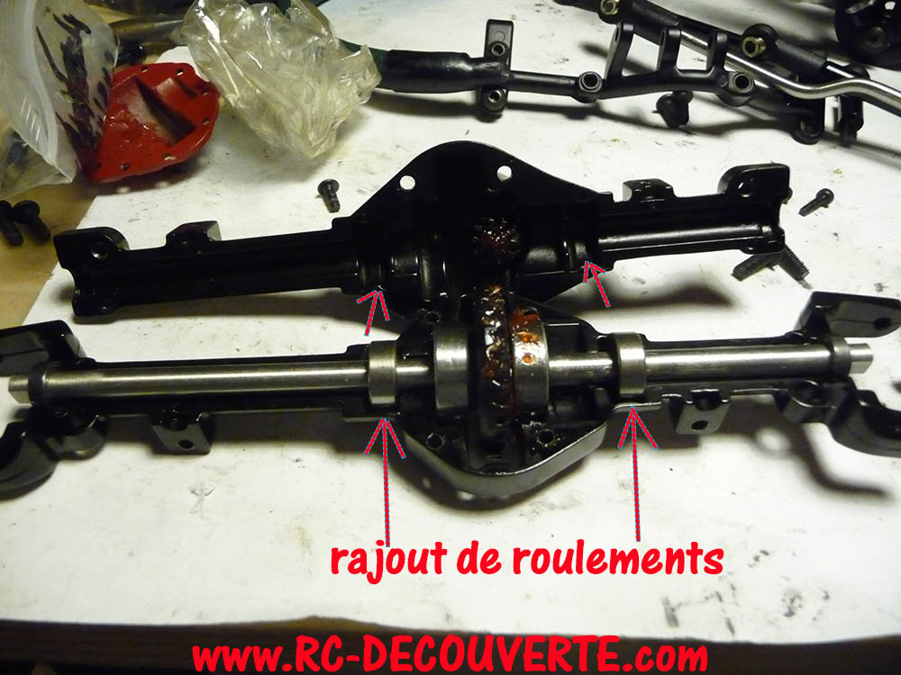 Chassis Boom Racing D90 D110 VS RC4WD Gelande 2 Boom-r20