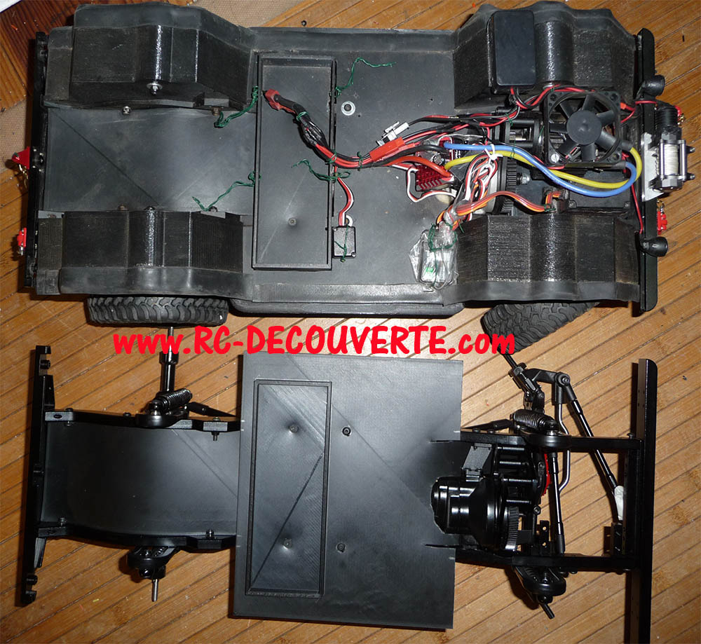 Chassis Boom Racing D90 D110 VS RC4WD Gelande 2 Boom-r32