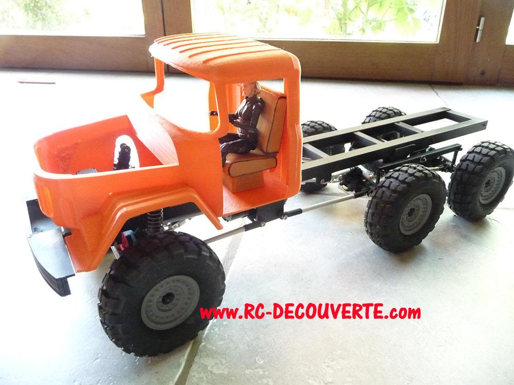 Camion Zil 131 6x6 impression 3D avec balancier totalement fait maison - Page 8 Camio102