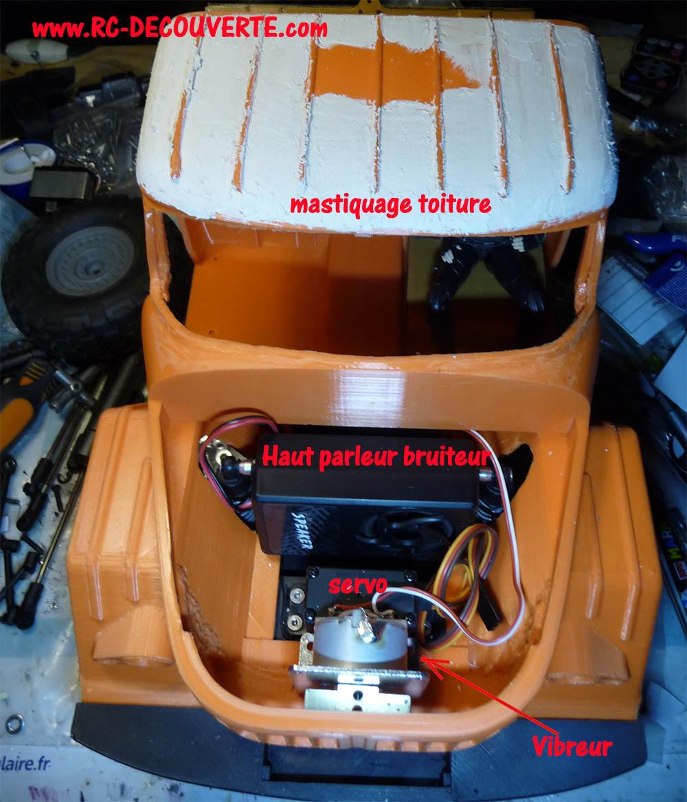 Camion Zil 131 6x6 impression 3D avec balancier totalement fait maison - Page 8 Camio103