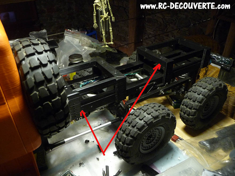 Camion Zil 131 6x6 impression 3D avec balancier totalement fait maison - Page 10 Camio128