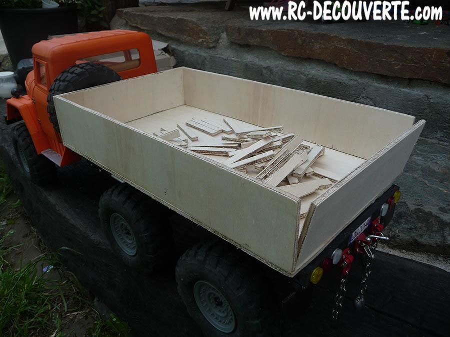 Camion Zil 131 6x6 impression 3D avec balancier totalement fait maison - Page 10 Camio132