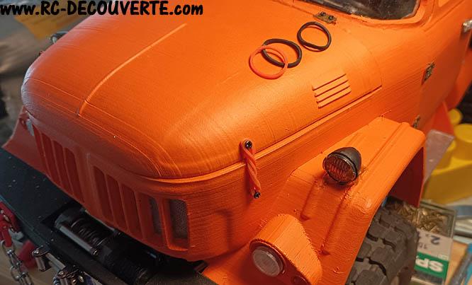 Camion Zil 131 6x6 impression 3D avec balancier totalement fait maison - Page 11 Camio134