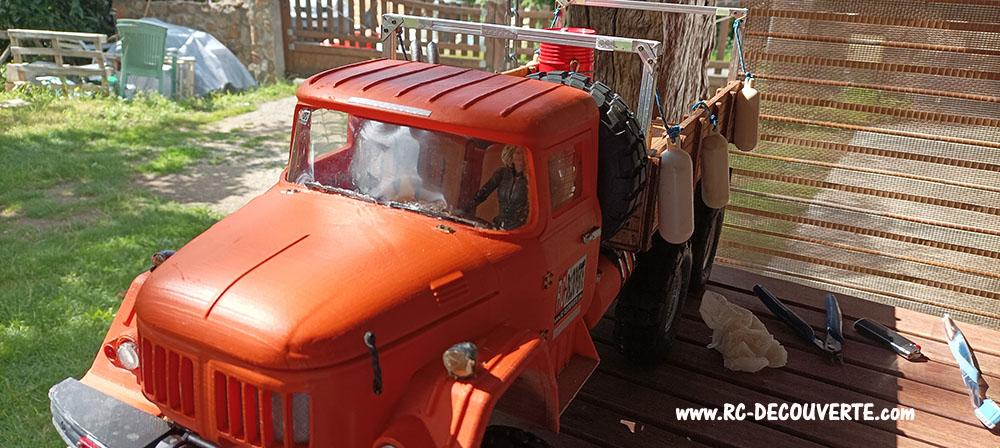 Camion Zil 131 6x6 impression 3D avec balancier totalement fait maison - Page 12 Camio137