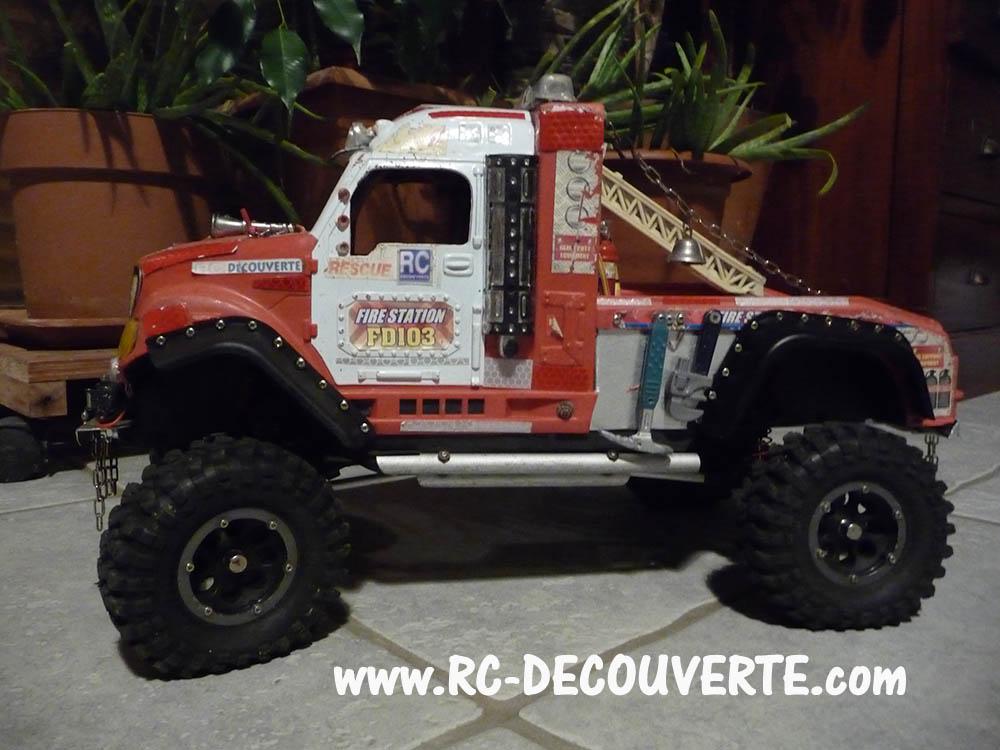 Mon camion de pompier SCFX RC Scale 1/10 Camion11