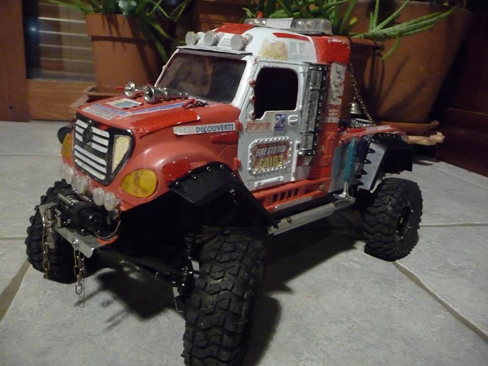 Mon camion de pompier SCFX RC Scale 1/10 Camion12