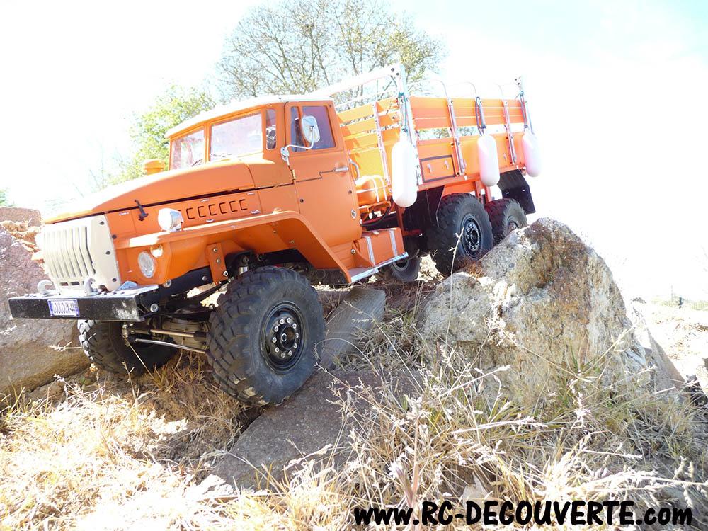Camion Cross RC UC6 6x6 de Louloux : Montage et Présentation - Page 18 Camion30