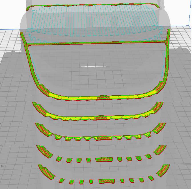 Camion Zil 131 6x6 impression 3D avec balancier totalement fait maison - Page 5 Camion41