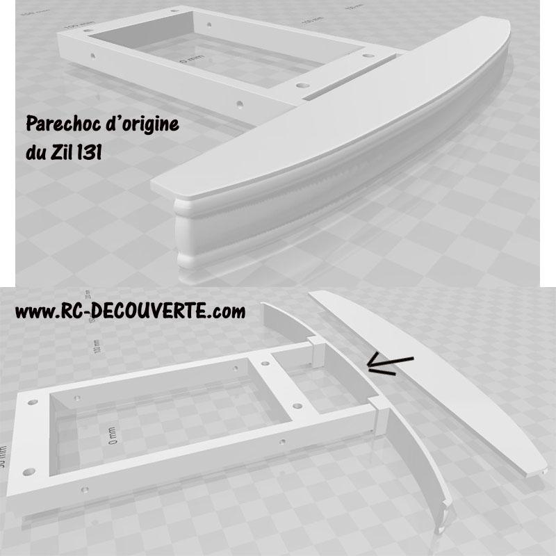 Camion Zil 131 6x6 impression 3D avec balancier totalement fait maison - Page 6 Camion63