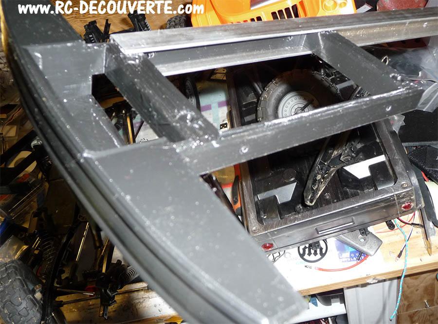 Camion Zil 131 6x6 impression 3D avec balancier totalement fait maison - Page 6 Camion66