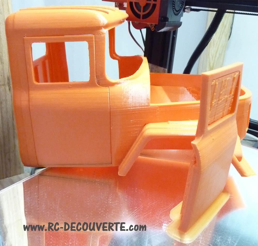 Camion Zil 131 6x6 impression 3D avec balancier totalement fait maison - Page 6 Camion69