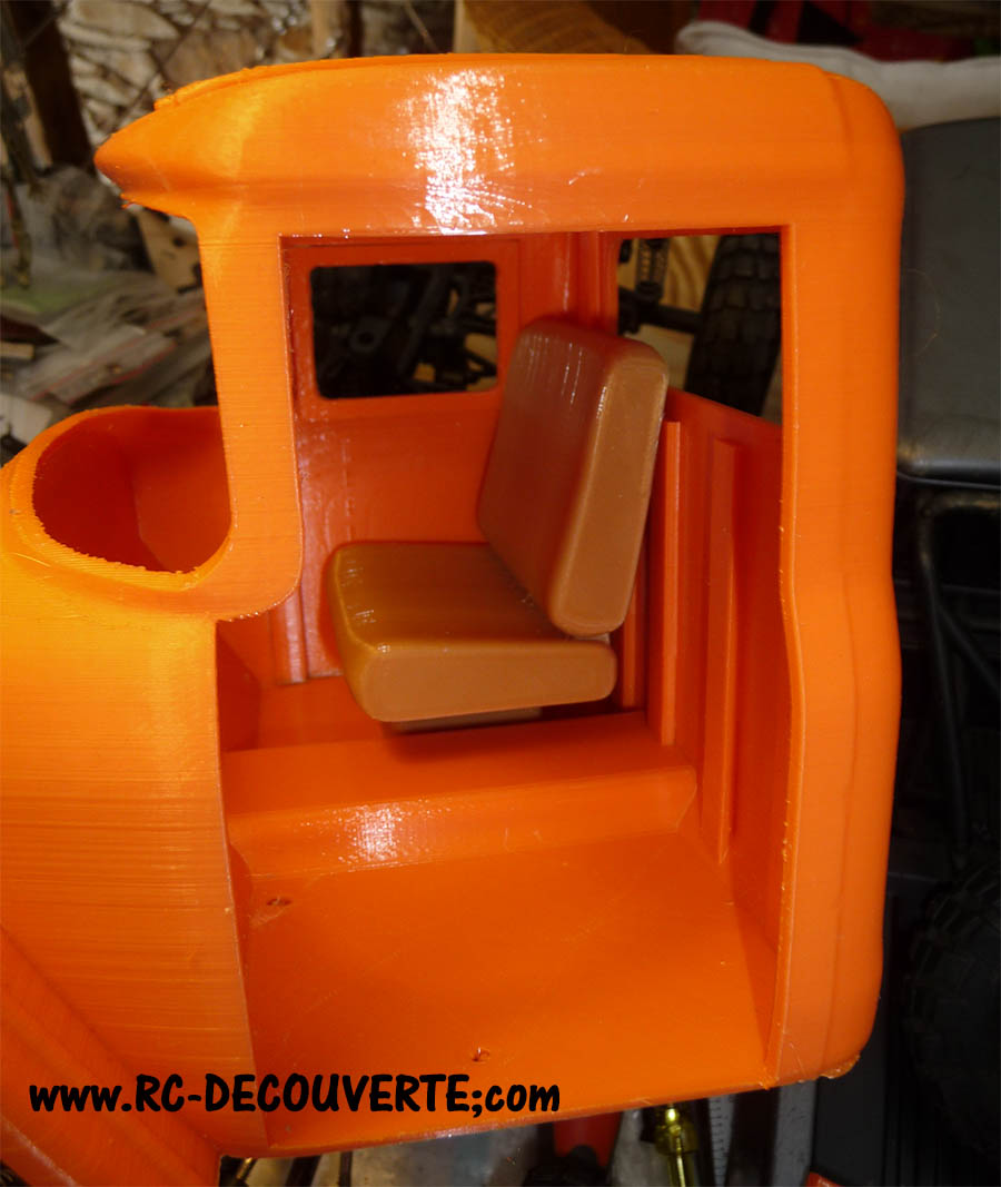 Camion Zil 131 6x6 impression 3D avec balancier totalement fait maison - Page 6 Camion70