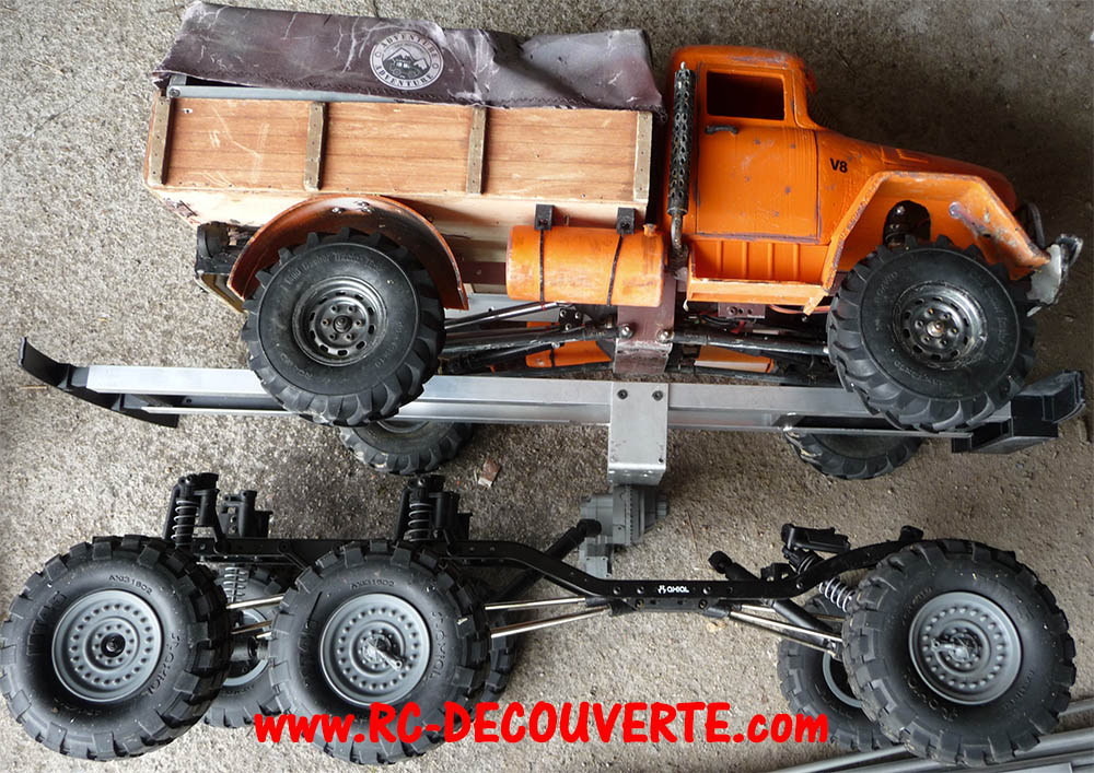 Camion Zil 131 6x6 impression 3D avec balancier totalement fait maison - Page 6 Camion71