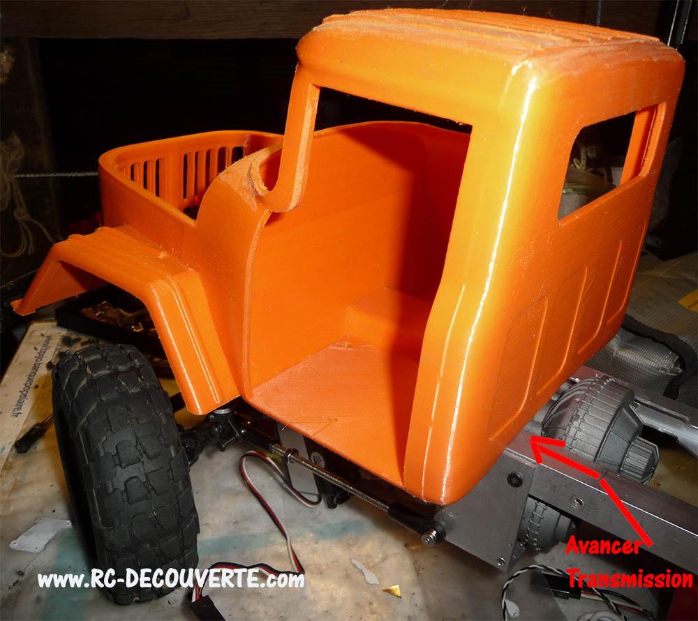 Camion Zil 131 6x6 impression 3D avec balancier totalement fait maison - Page 7 Camion72