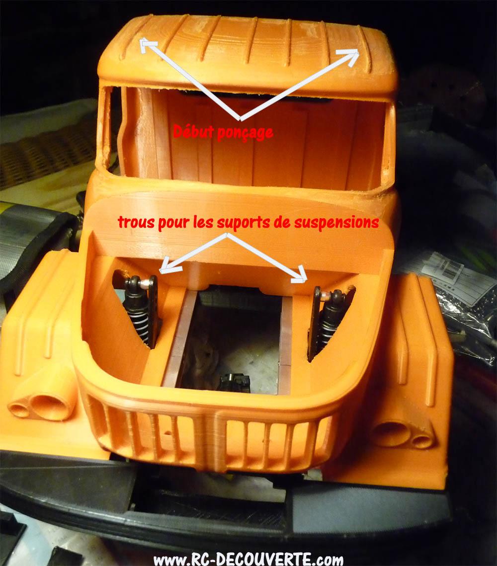 Camion Zil 131 6x6 impression 3D avec balancier totalement fait maison - Page 7 Camion73
