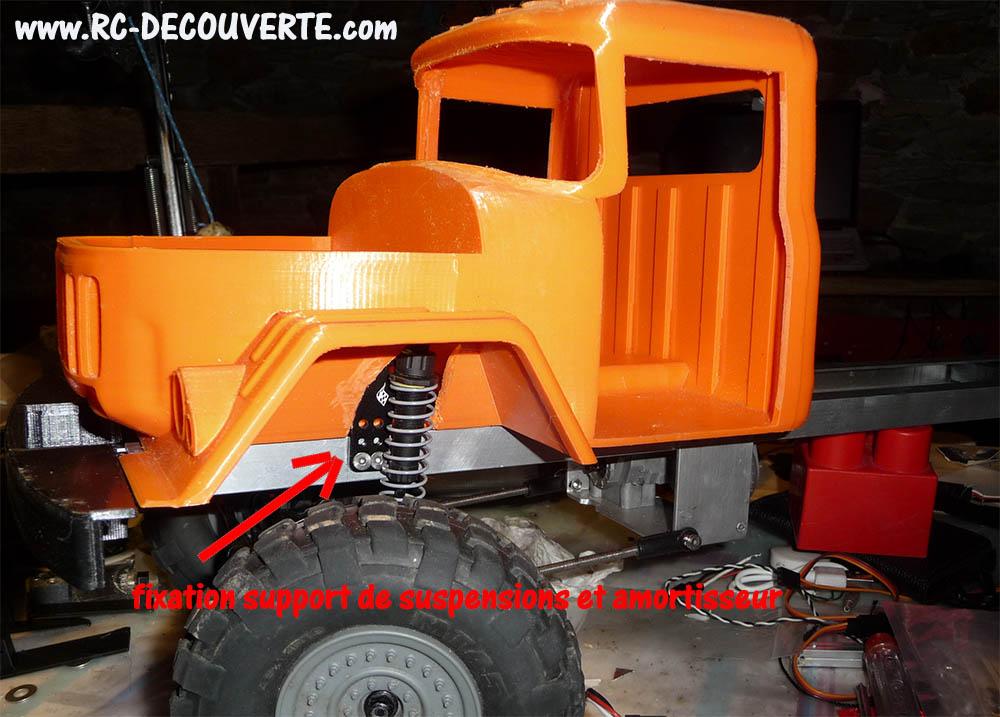 Camion Zil 131 6x6 impression 3D avec balancier totalement fait maison - Page 7 Camion74
