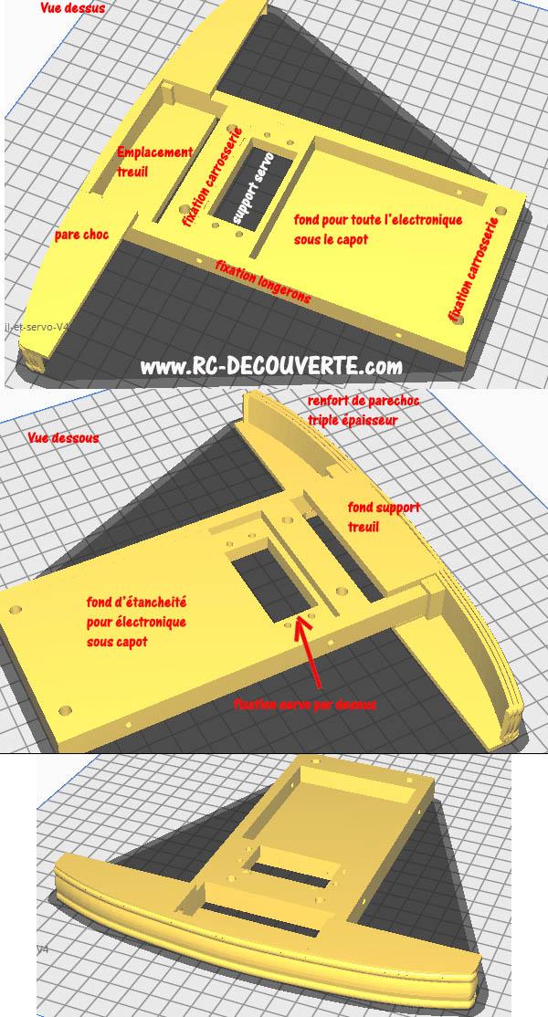 Camion Zil 131 6x6 impression 3D avec balancier totalement fait maison - Page 7 Camion76