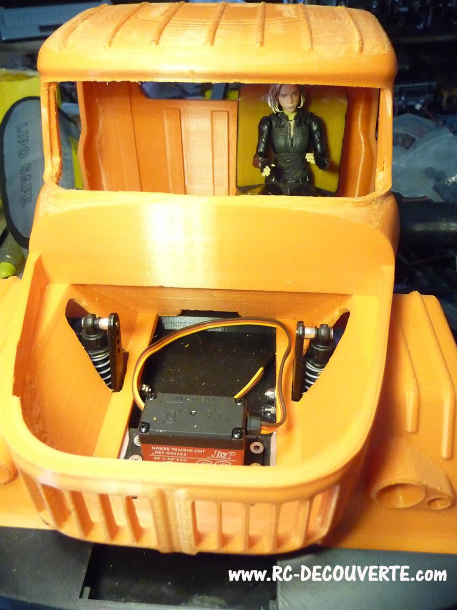 Camion Zil 131 6x6 impression 3D avec balancier totalement fait maison - Page 7 Camion79