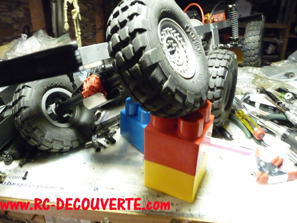 Camion Zil 131 6x6 impression 3D avec balancier totalement fait maison - Page 8 Camion91