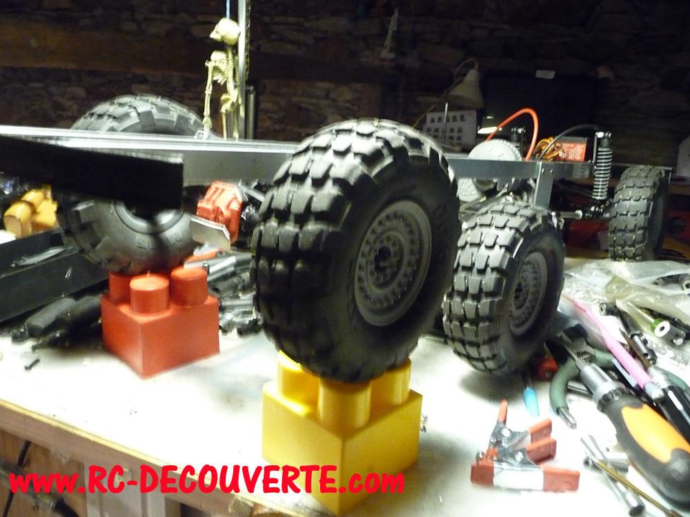 Camion Zil 131 6x6 impression 3D avec balancier totalement fait maison - Page 8 Camion92