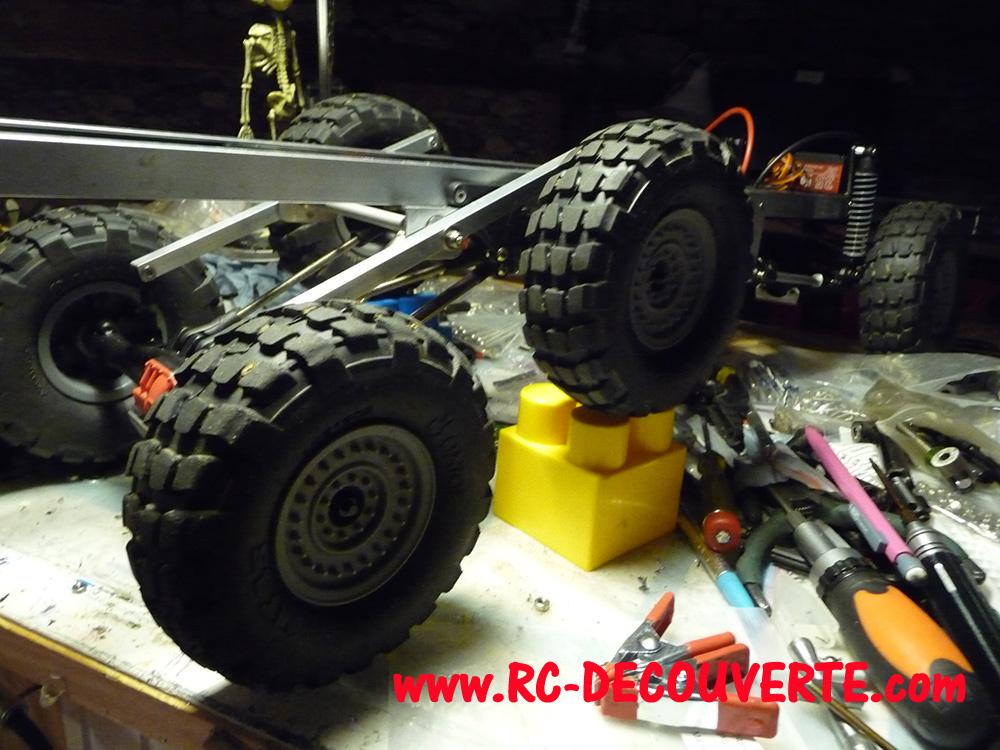 Camion Zil 131 6x6 impression 3D avec balancier totalement fait maison - Page 8 Camion93