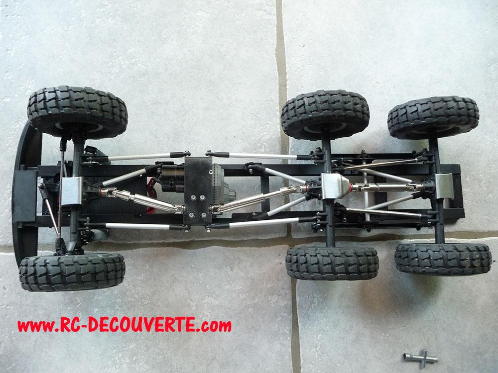 Camion Zil 131 6x6 impression 3D avec balancier totalement fait maison - Page 8 Camion95