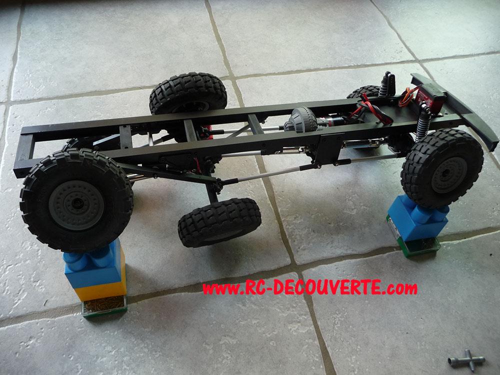 Camion Zil 131 6x6 impression 3D avec balancier totalement fait maison - Page 8 Camion97