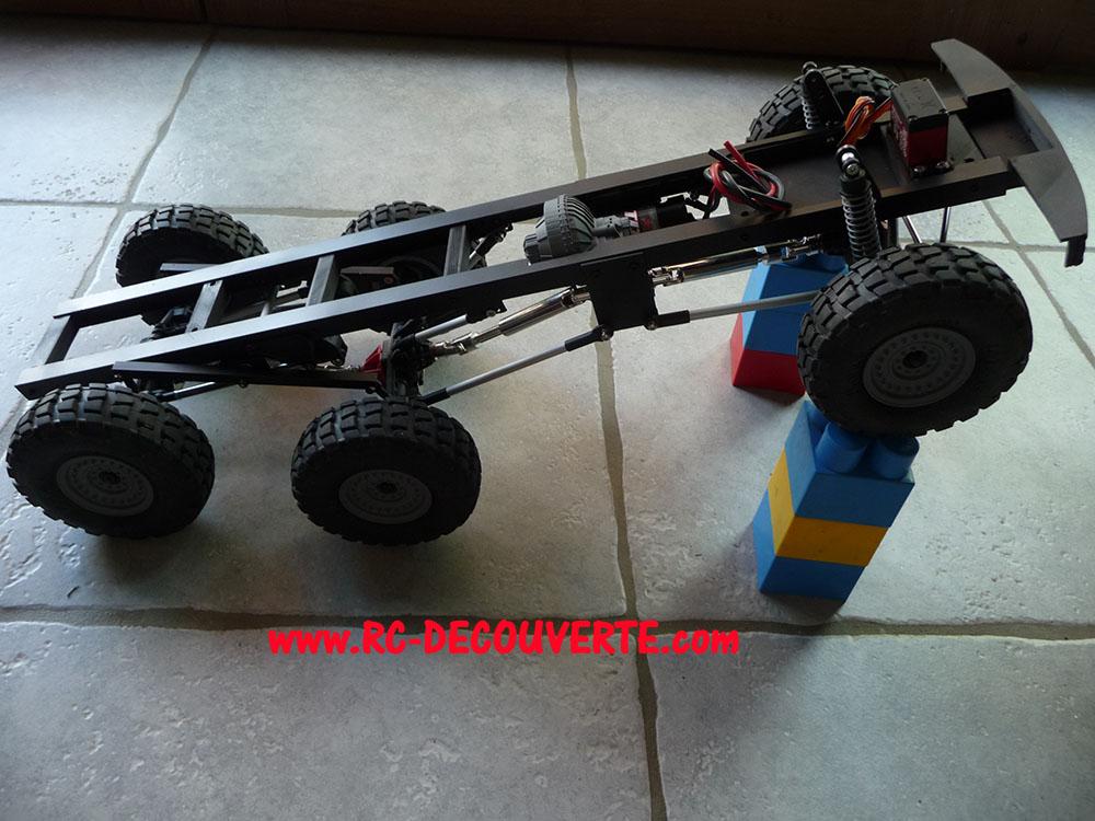 Camion Zil 131 6x6 impression 3D avec balancier totalement fait maison - Page 8 Camion98
