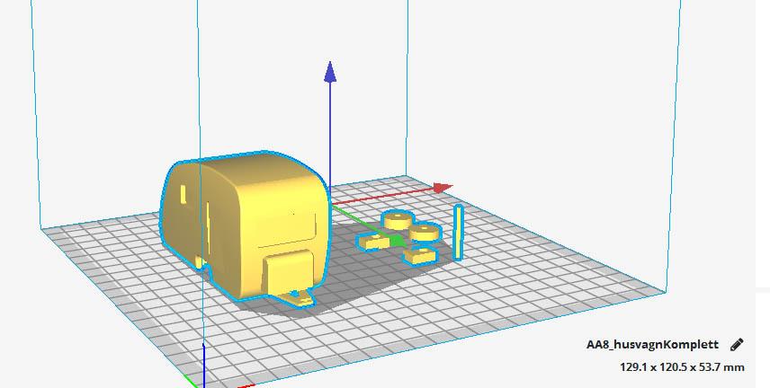 Caravane 3D pour Scx10 et tout Scale et Crawler 1/10  Carava10