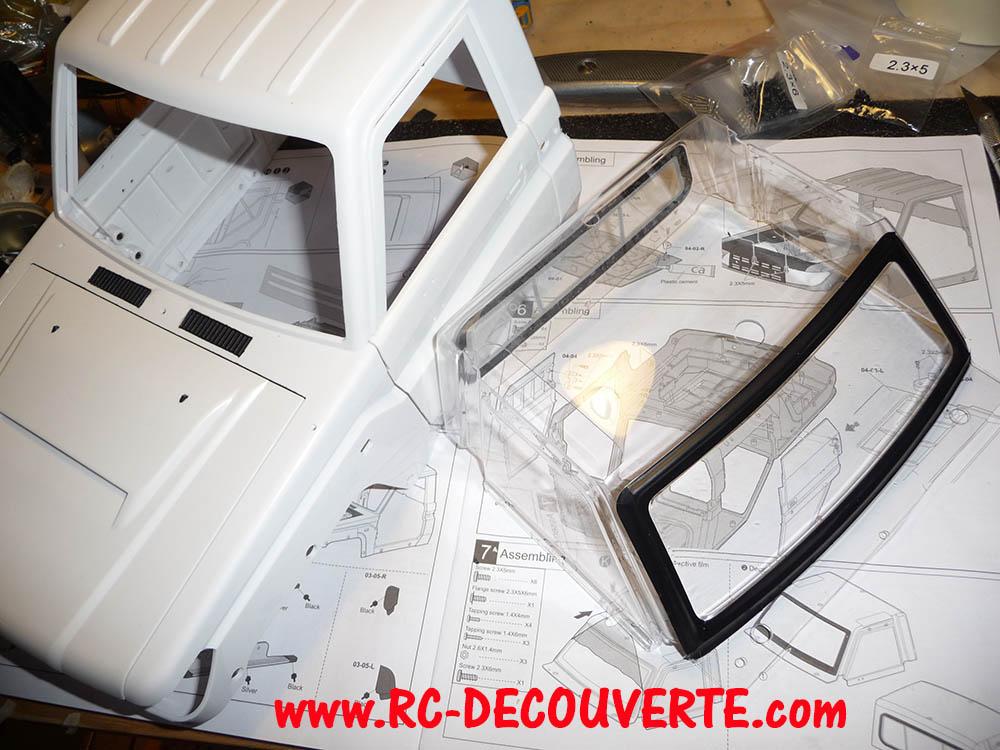 Montage carrosserie Toyota Land Cruiser LC70 Killerbody du Kit BRX01 Carros16
