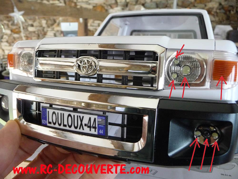 Montage carrosserie Toyota Land Cruiser LC70 Killerbody du Kit BRX01 Carros19